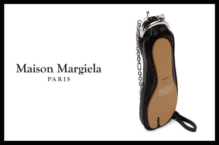 Maison Margiela 分趾鞋化成單肩包!一看這個鞋底,時裝迷怎忍得住手?