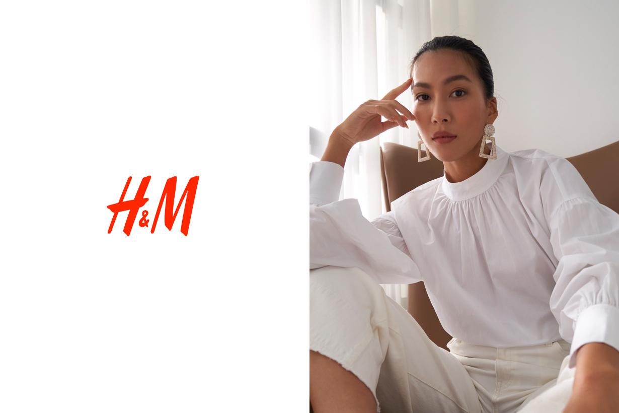 H&M ambassador molly chiang taiwan hk macau story fall 2020