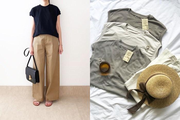 被搶購清單的第一位!這款無印良品 T Shirt 對日本女生到底有什麼魅力?