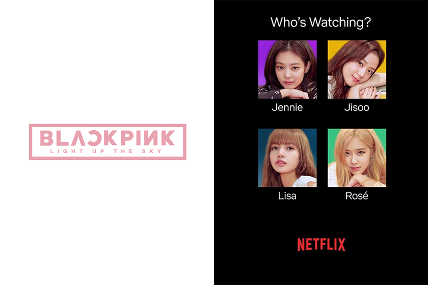 Netflix K-POP BlackPink Documentary BLACKPINK Light Up the Sky