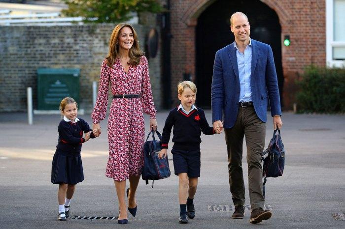 父母一定有共鳴:喬治、夏洛特復課,威廉王子笑言鬆一口氣!
