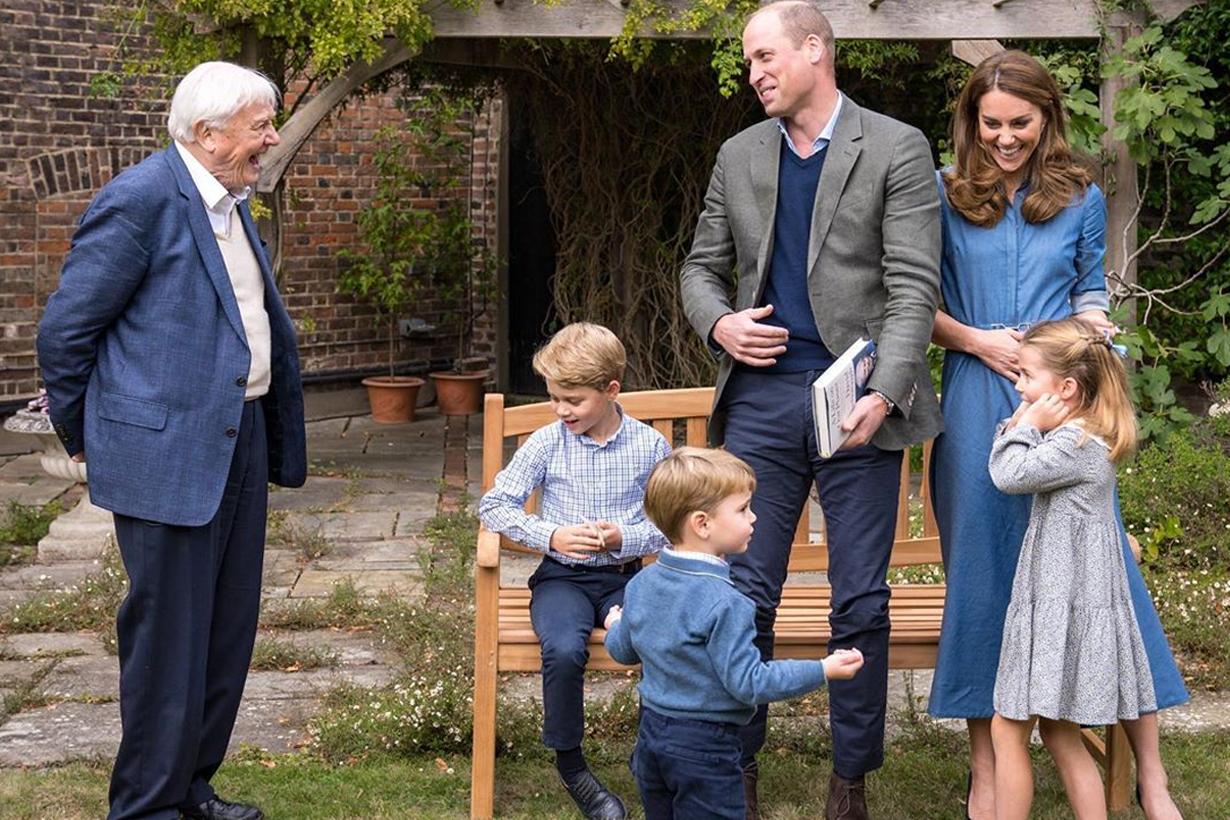 Prince William Kate Middleton Prince George Princess Charlotte Prince Louis British Royal family Gabriela Hearst Zara