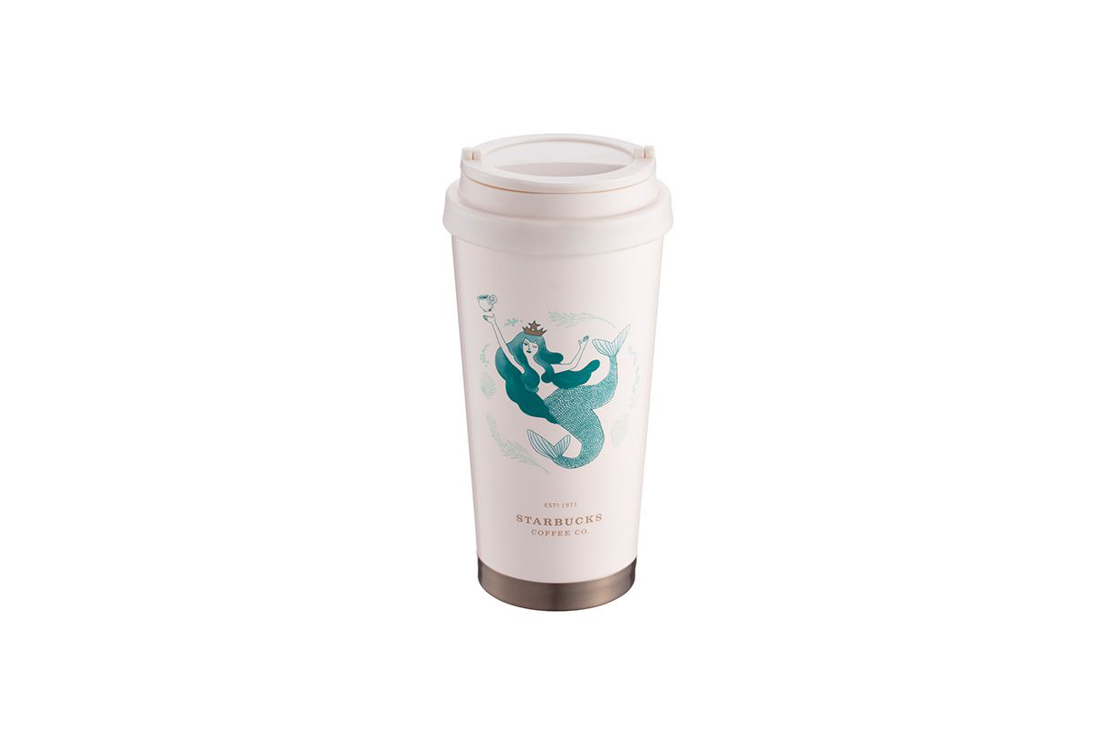 Starbucks 夢幻美人魚系列台灣正式發售 趕快入手堪稱最美貝殼杯