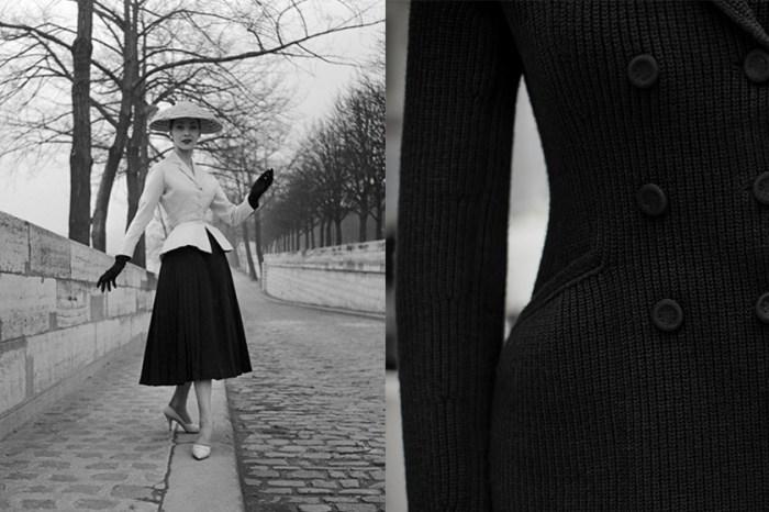 不只優雅還很實穿,Dior 經典 Bar Jacket 推出極簡針織款!