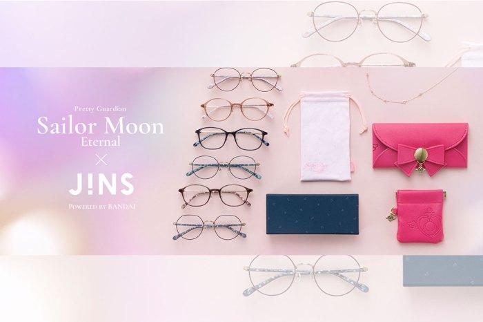 Sailor Moon X JINS 眼鏡系列再登場!6 款美少女戰士鏡框,美到只捨得收藏