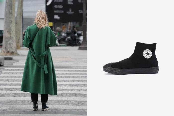 連 Converse 也推出襪套鞋,高包覆性全黑設計引熱烈討論!