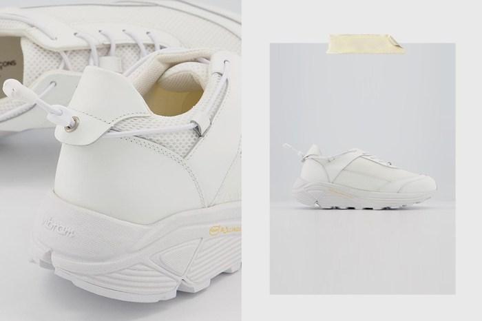 這次不是與 Nike,COMME des GARÇONS 極簡厚底波鞋引起話題!