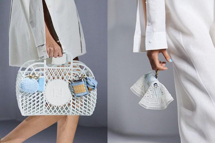 #MFW:Fendi 將經典手袋變成仙女包,如雲朵漂浮般柔美!