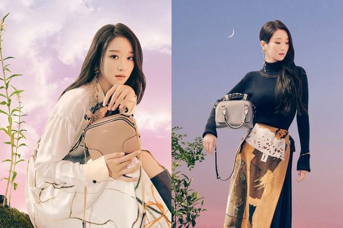 徐睿知延續「高文英」的氣勢,用 Chloé 新款手袋 Mini Daria 寫童話!