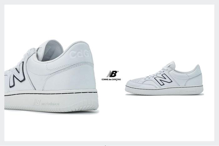 極簡版 New Balance,攜手 COMME des GARÇONS又一雙話題波鞋!