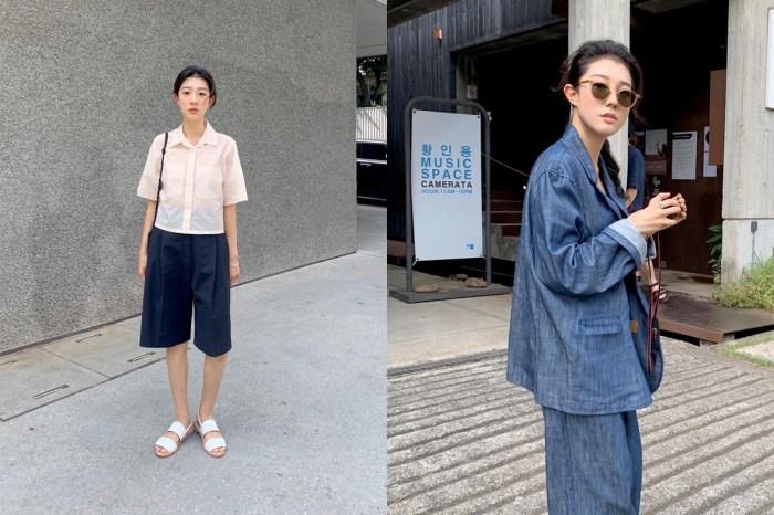 收進日常的靈感口袋:看這個韓國女生用基本單品,穿出各種 Effortless Chic!