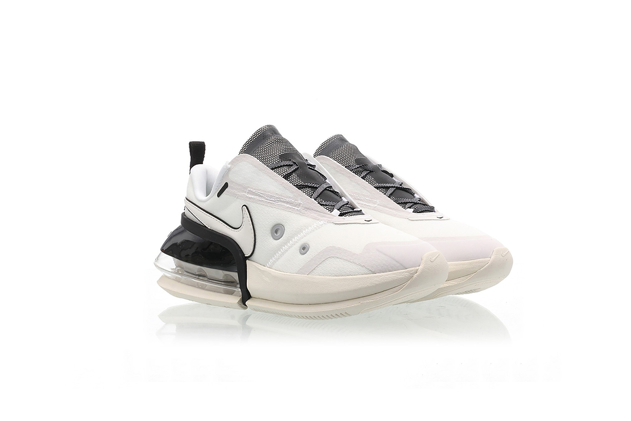 nike air max up womens sneakers cream white black colorway