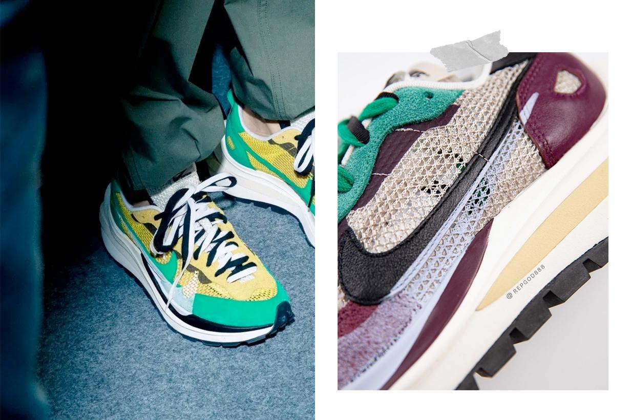 sacai nike Pegasus Vaporfly SP sneakers 2020 close up looks