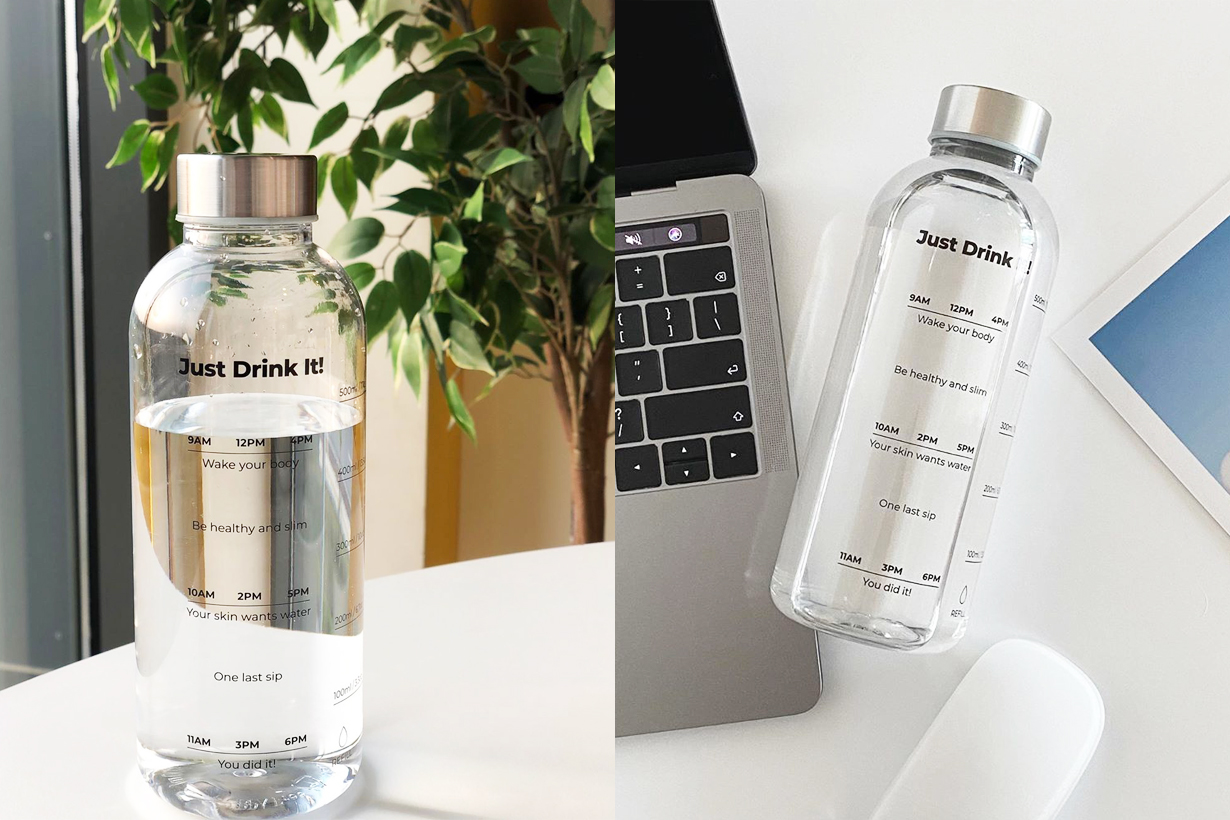 Vottle Time Bottle Just Drink Time Bottle Remind drink more water Healthy Diet Wake your body be healthy slim skincare