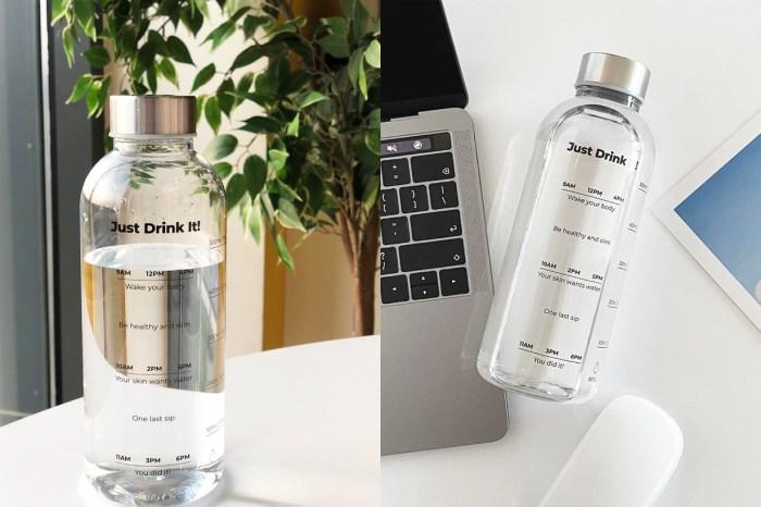這個會提醒你多喝水的水瓶,最近在韓國爆紅!