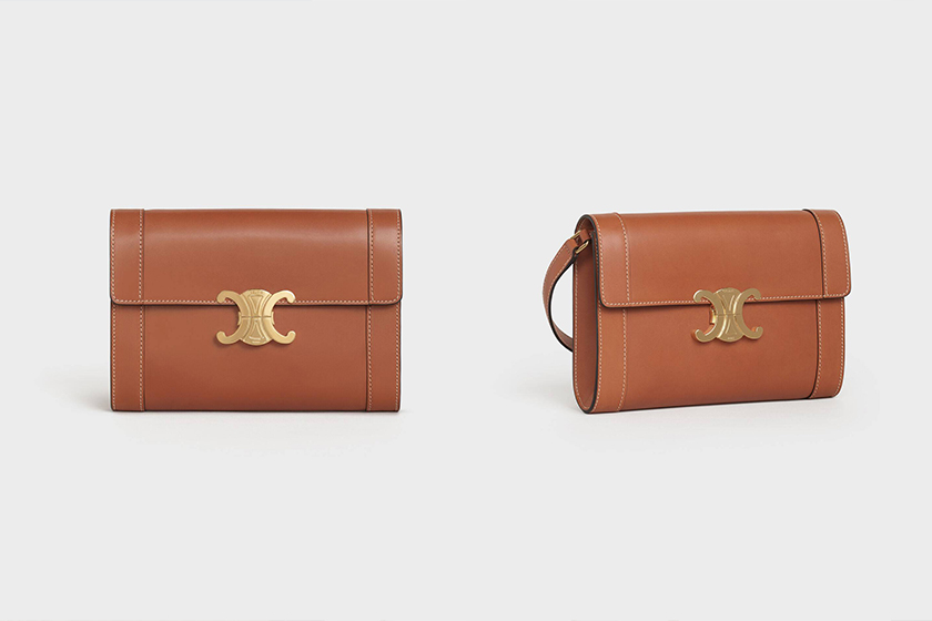 celine Triomphe Strap handbags 2020