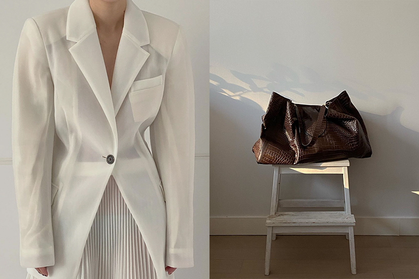 new york luxury emerging designer Peter do minimalist brand