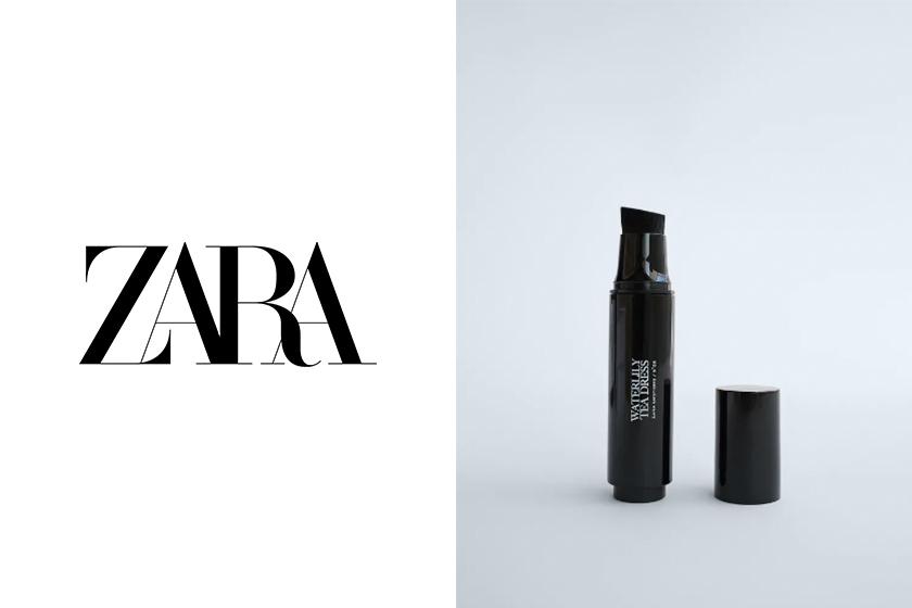 zara pinceau a parfum scented gel