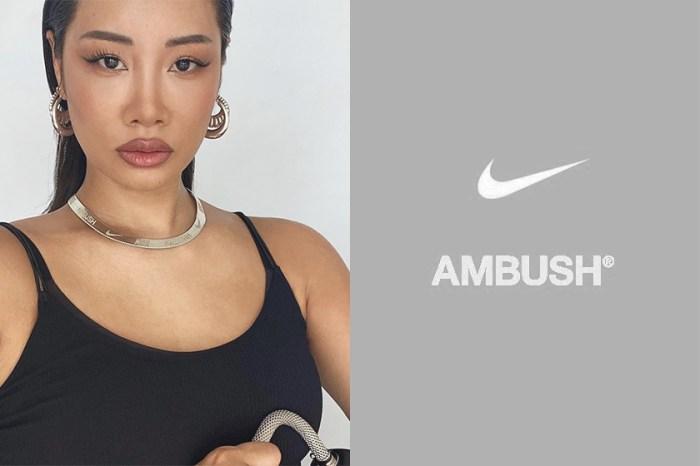 黑白視覺 Nike x Ambush 聯名鞋款再次曝光:主理人 Yoon Ahn 悄悄釋出實穿圖!