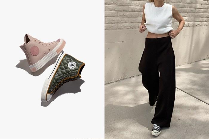 為秋冬找到命定球鞋:Converse 推出浪漫玫瑰粉、登山風格絨面別注設計外型!