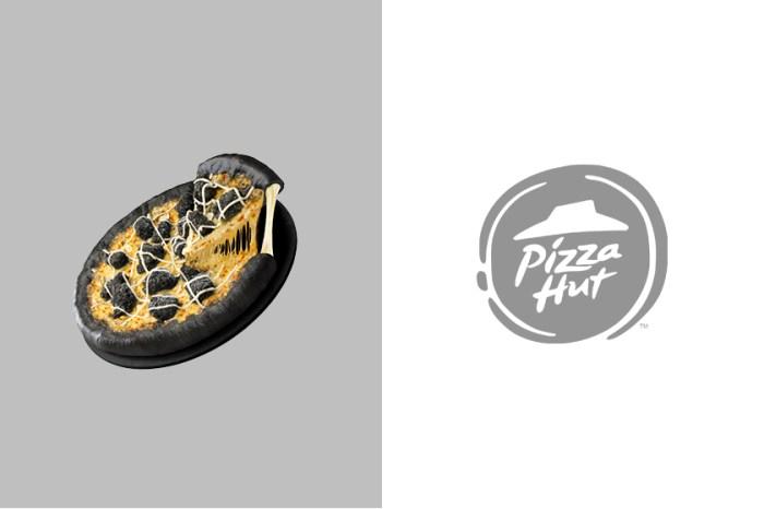 充滿恐怖氛圍:Pizza Hut 為萬聖節推出「暗黑系披薩」你敢嘗試看看嗎?