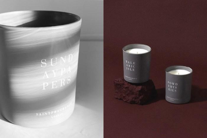 極簡純淨的灰色調:來自倫敦的小眾香氛蠟燭 Saint Fragrance 平靜你紛亂的內心!