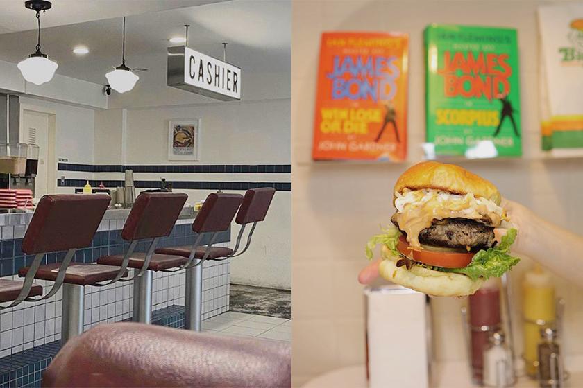 Instagram Hot Spots Taipei hamburger Restaurant