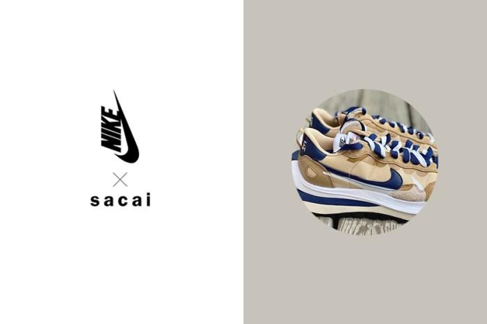 再度引來球鞋女生的熱烈關注:Nike x Sacai 聯名之作又有兩個新配色實鞋曝光!