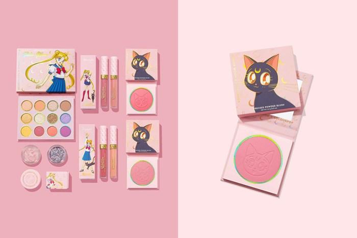 美少女戰士迷注意:ColourPop 聯名 Sailor Moon 彩妝再次補貨,讓人陷入選擇困難!