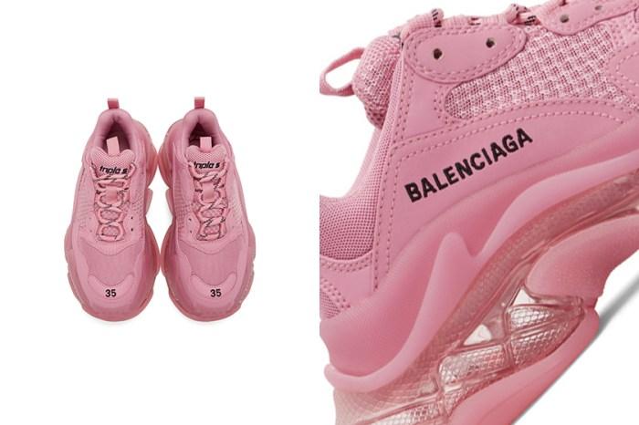 為秋冬的簡約穿搭注入一絲浪漫:Balenciaga 為 Triple-S 帶來俏皮粉色設計!