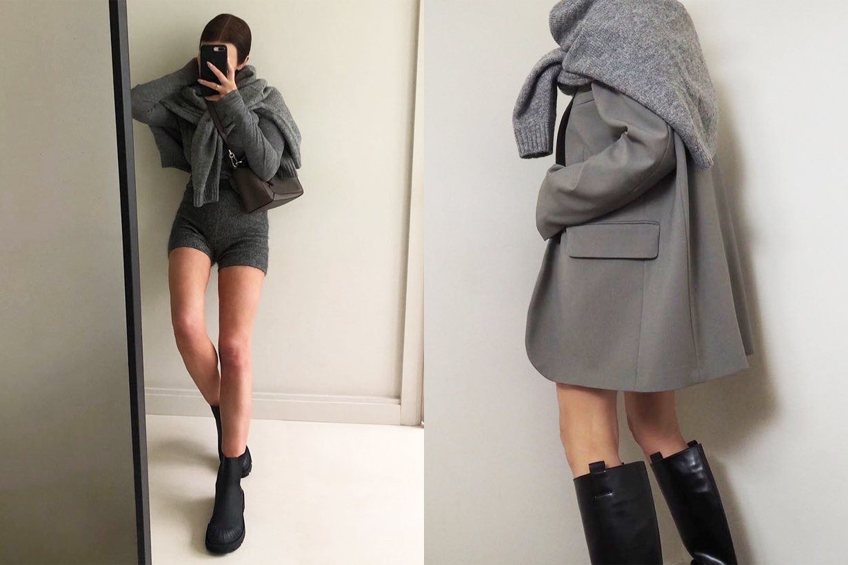 2020 fall Winter shoes trends boots long boots over the knees boots leather boots fashion items Bottega Veneta  KHAITE By Far