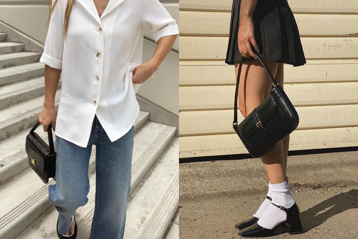 POPBEE Editors pick Handbags Pick 2020 Fall Winter Acne Studios Musubi Bag GUCCI 1955 Horsebit Bag Lemaire Croissant leather shoulder bag