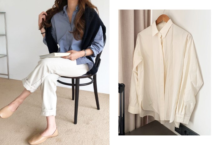除了白色恤衫,每年秋冬韓國女生還會準備一件這樣的款式!