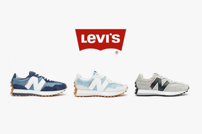 耐穿百搭又時髦,Levi's x New Balance 幫波鞋 327 換上了牛仔布!