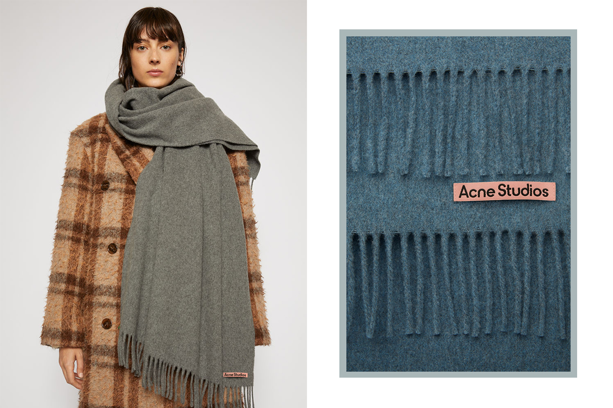 Acne Studios Scarf Pink Label