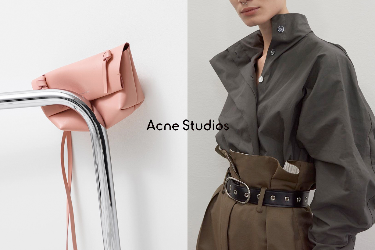acne studios sale started twice a year 2020