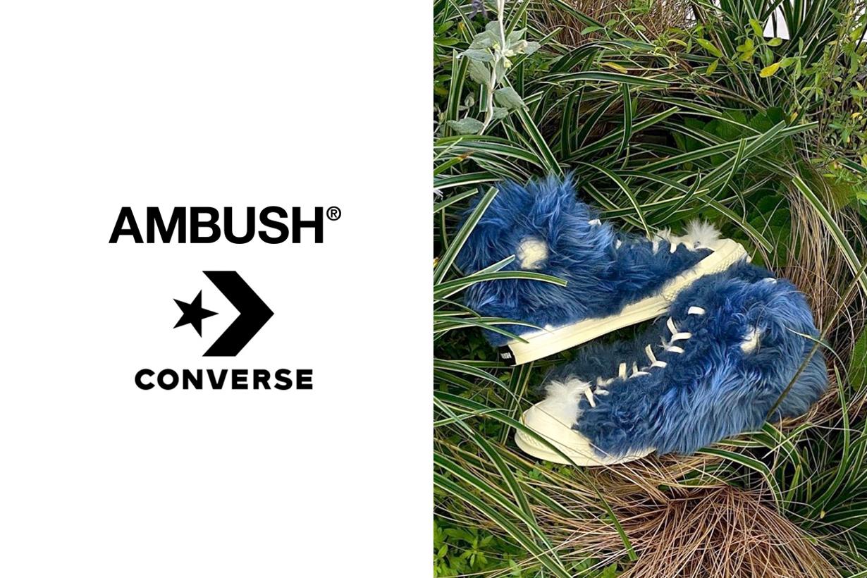 ambush converse second release furry chuck 70 rubber boots 2020 fall when november