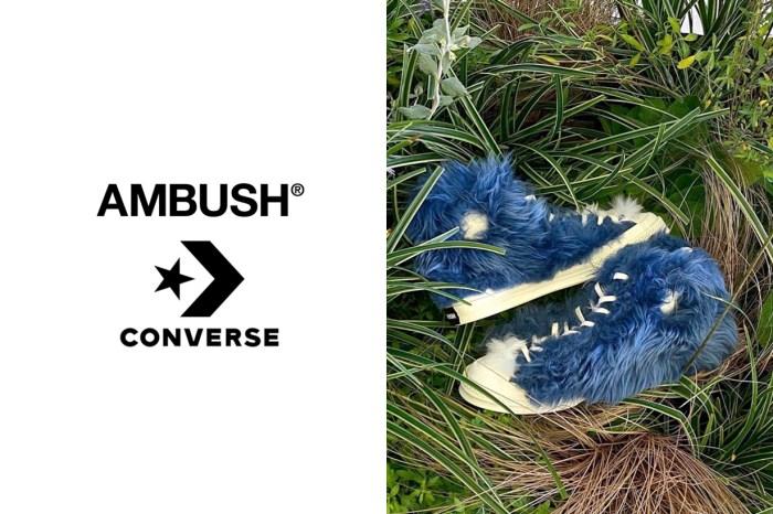 再度一雙難求?這次 Ambush x Converse 共準備了 4 款,11 月準時開賣!