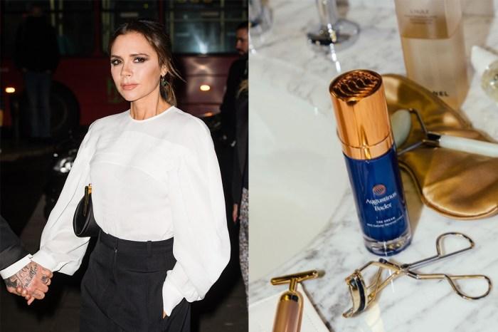 Victoria Beckham 也用它來抗老護膚!年賺 US$2,400 萬,這款藍瓶面霜真這麼神奇?