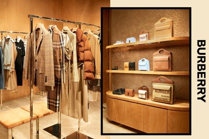 Burberry K11 MUSEA 新店開幕,席捲各大社交媒體的人氣 IT Bag 亦同時登陸!