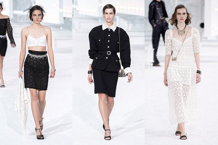 #PFW:走出法式電影,Chanel 用極簡堆砌最純粹的浪漫主義!