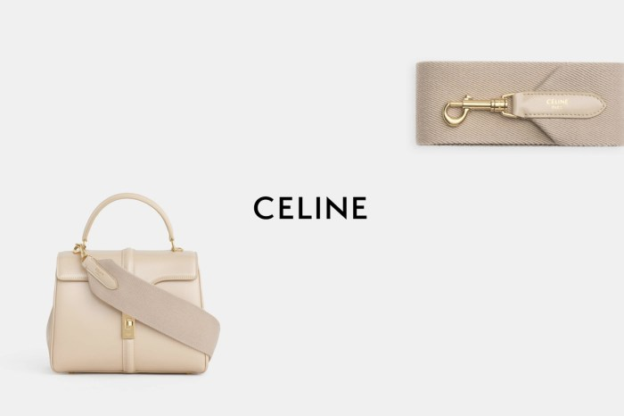 Celine 16 Bag 變身:迷人的全新寬背帶,一口氣就上架 10 款!