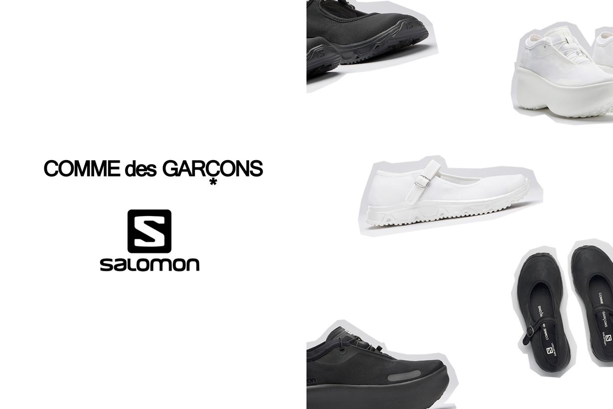 COMME des GARÇONS salomon sense feel RX 3.0 ss21 march 2021