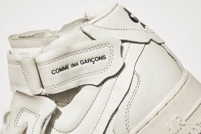 極簡黑白中藏著質感細節: COMME des GARÇONS 再度聯手 Nike 推出別注球鞋設計!