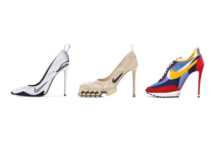 所以說… 高手在民間,這些 Nike 高跟鞋讓時尚迷都敲碗求售!