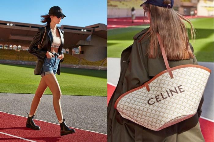 壓軸春夏大秀:走在操場跑道上,Celine 極簡下的復古運動美!