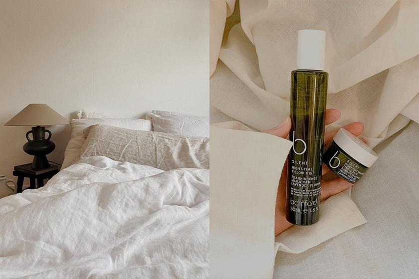 Bamford B Silent pillow mist perfumes help you sleep