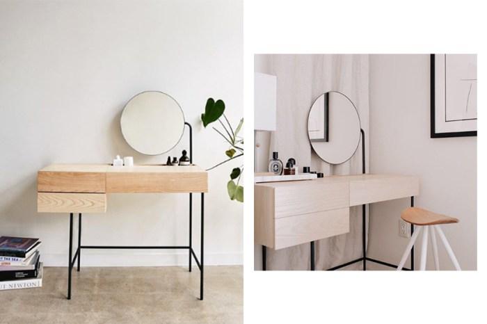 每次護膚都是生活品味:設計俐落簡潔的梳妝桌,給你打造質感日常!