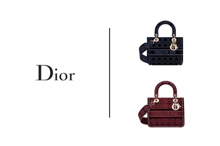奢華感提升:Dior Lady D-Lite 換上新裝,你看得出來嗎?