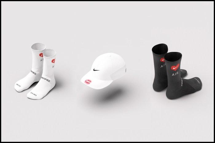 秒售罄:唇印、愛心、玫瑰花… 女生不會想錯過這個 Nike 聯名系列!